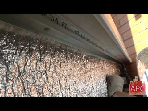 Технология обшивки балкона гипсокартоном без малярных работ от АРСеналстрой