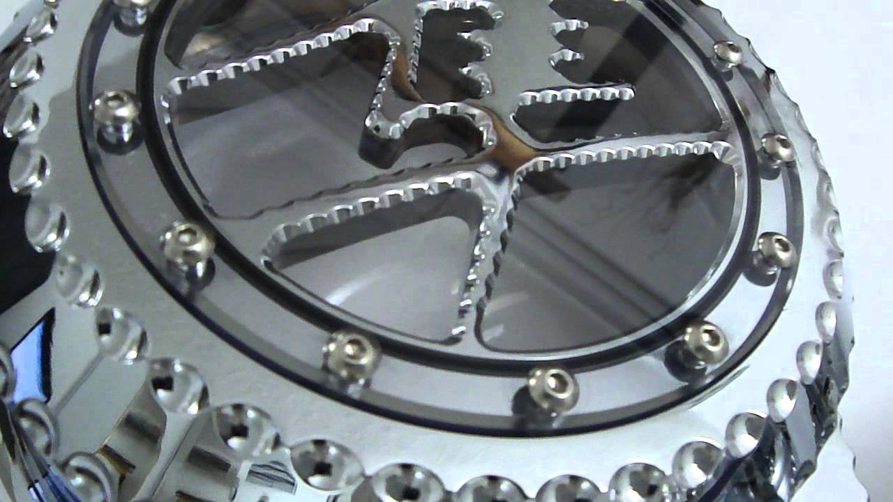 HAYABUSA 3D CLEAR CLUTCH AND STATOR COVER ,, - YouTube