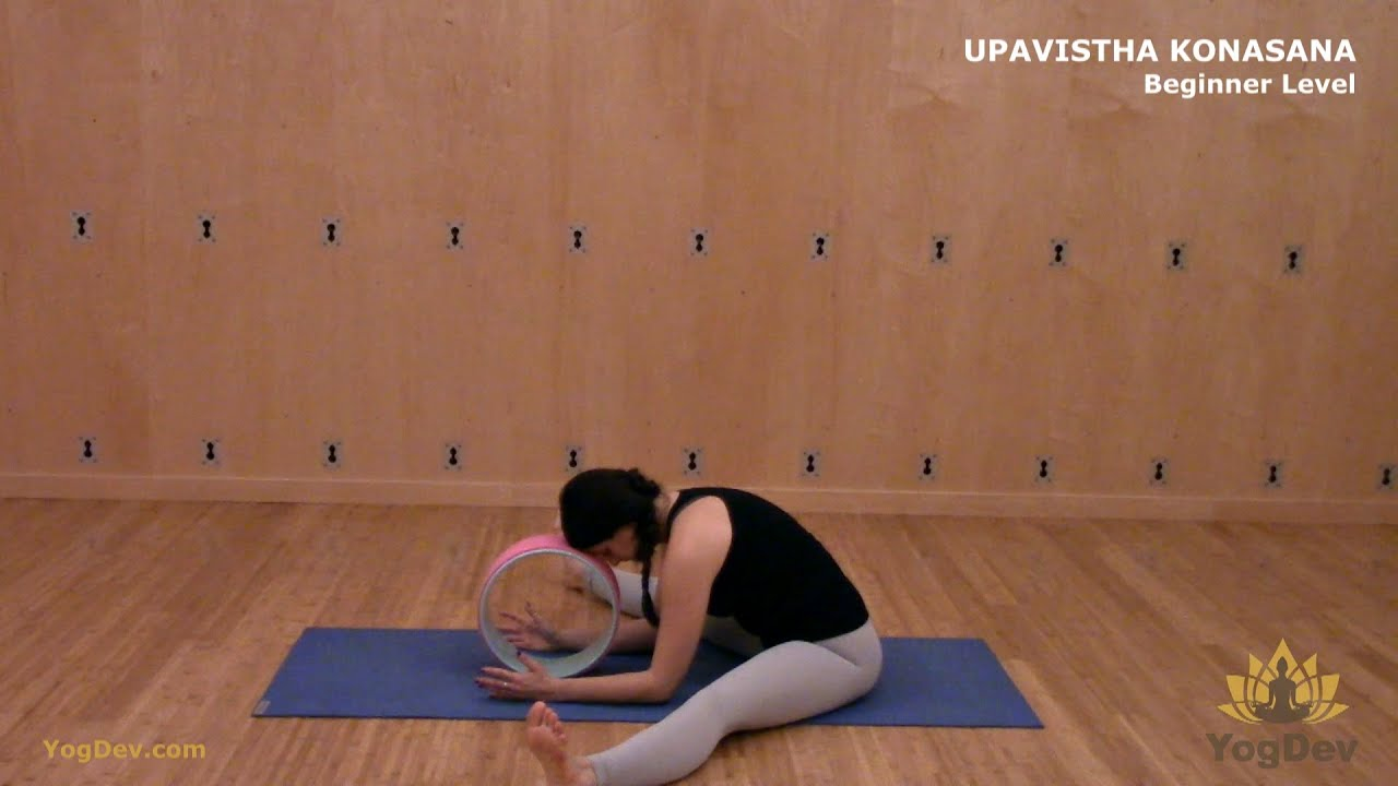 Yoga Wheel Pose Guide by YogDev for Beginner and Advanced Level