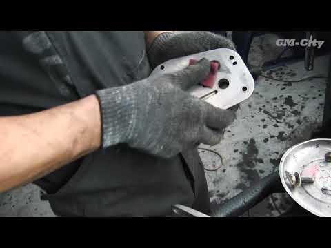 Замена прокладок теплообменника на Chevrolet Aveo