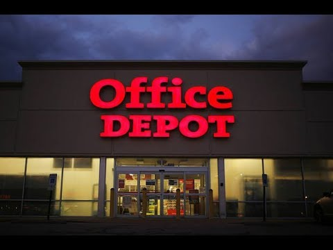 WORKING FOR OFFICE DEPOT