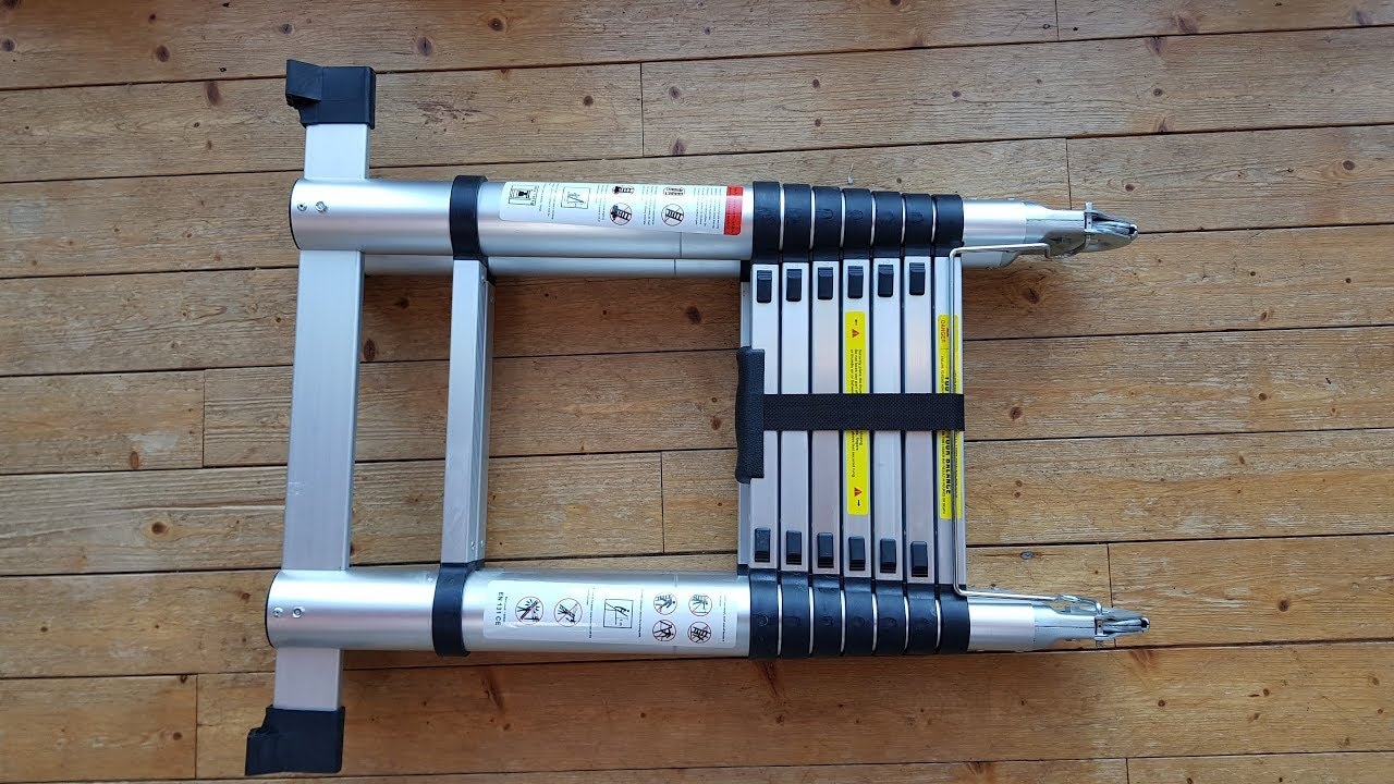 Multi Purpose Aluminium Telescopic Ladder Review