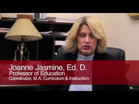M.A. In Curriculum And Instruction