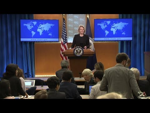 Department Press Briefing - September 11, 2018