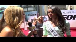 "G-Force - Red Carpet - ""Miss California Teen"" Chelsea Gilligan"
