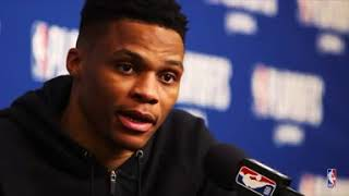 """Russel Westbrook """"Lil Baby"""" Freestyle"""