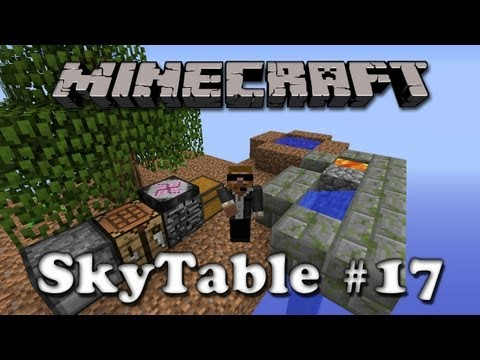 SkyTable - Ep17 - No Bees :( and a Forestry Pumpkin Farm