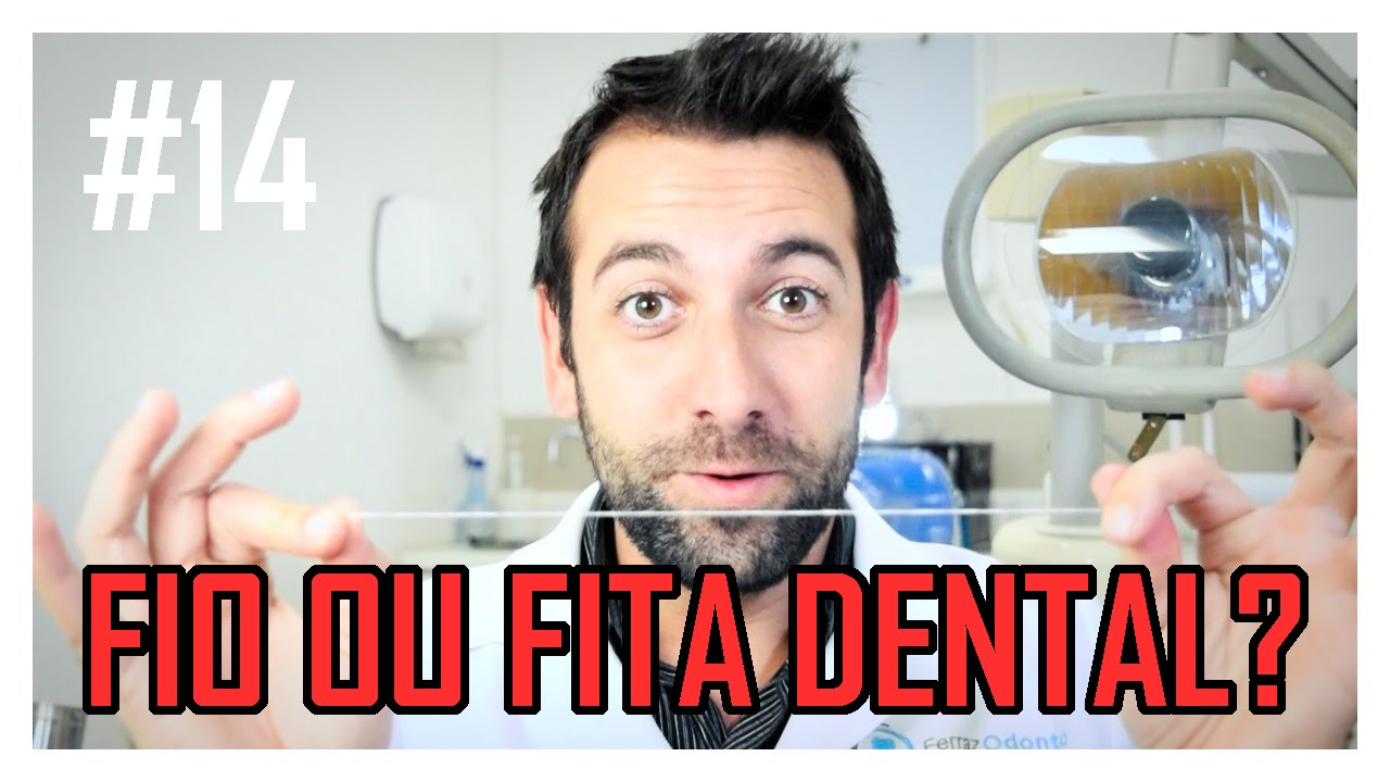 68a420eef 14 Fio ou fita dental  - YouTube