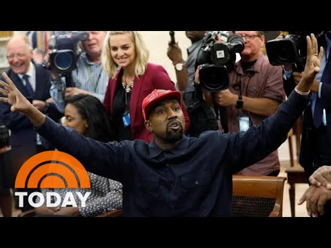 Kanye West Delivers Freewheeling Rant At The White House | TODAY Mp3