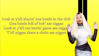 Nicki Minaj - Lookin Ass Niggas (Lyrics) - NEW SONG