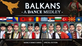 A Balkan Dance Remix! • 12 countries in...12 minutes! (World Dance Series - Special)