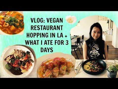 Vlog: Vegan Restaurant Hopping in LA + What I Ate For 3 Days