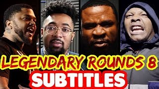 Legendary Rounds Vol 8 SUBTITLES - Twork, Geechi Gotti, JayBlac, Tech 9 | Masked Inasense