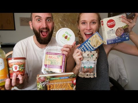 "VEGAN ""JUNK FOOD"" TASTE TEST"