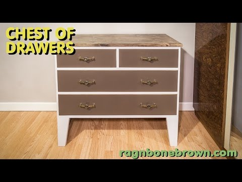 Making a Chest of Drawers from salvaged materials (part 2 of 2)