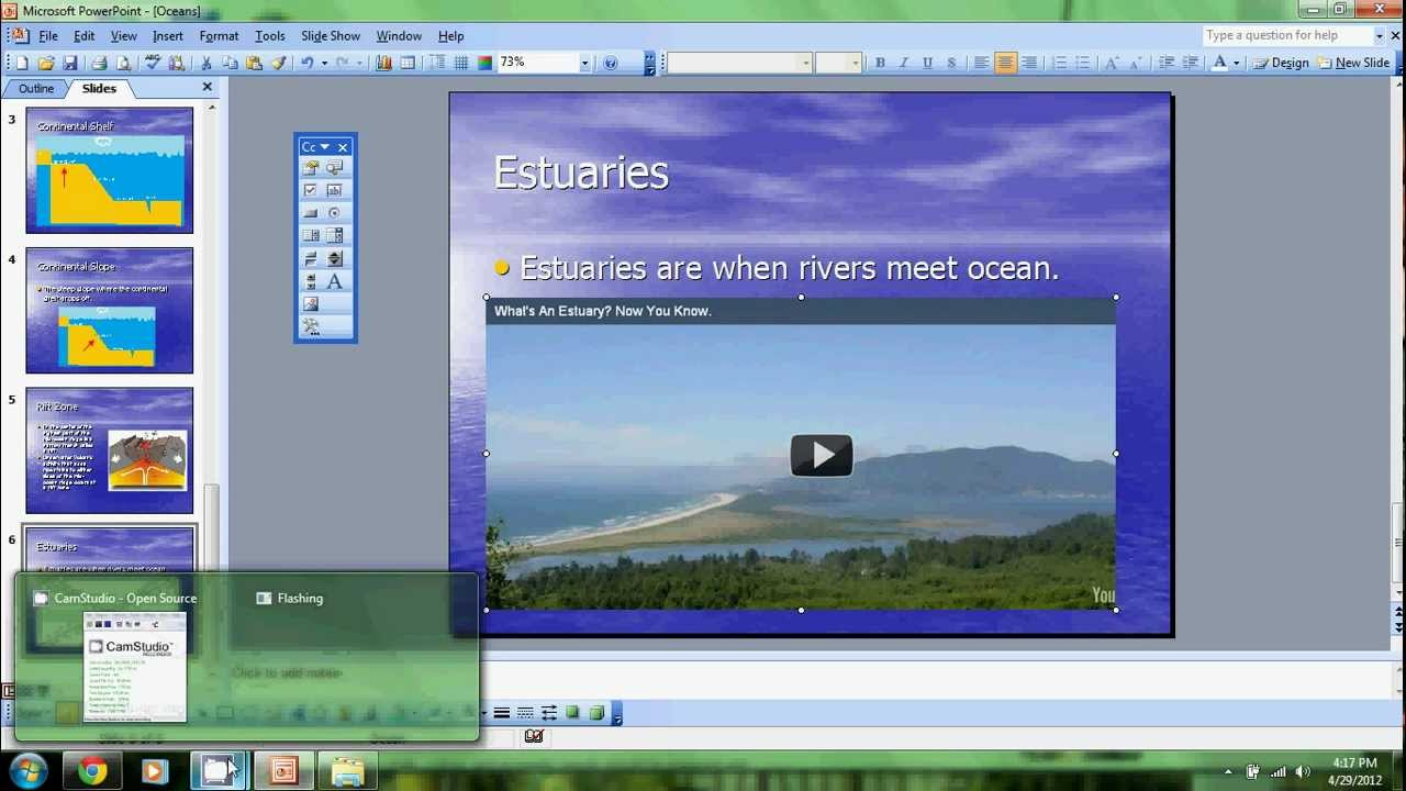 How To Put Youtube Videos On Microsoft Office Powerpoint 2003
