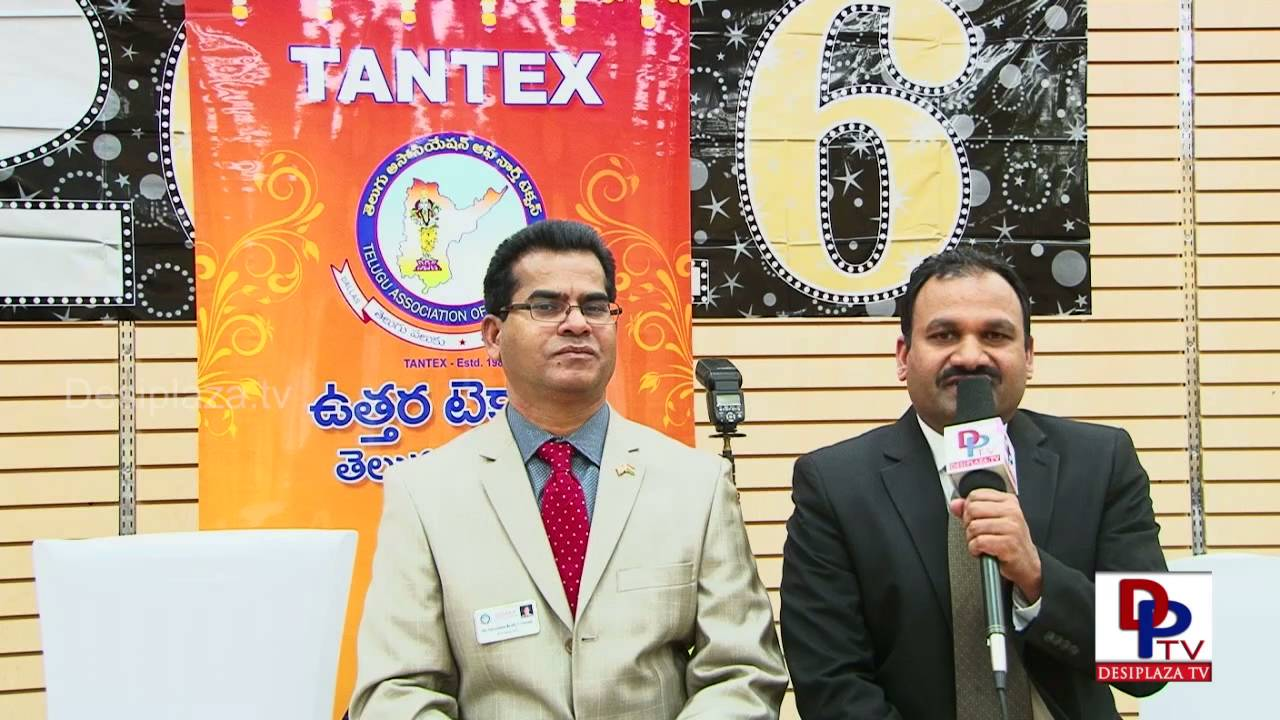 Krishna Reddy - President Elect Tantex Speaking to Media