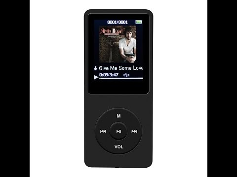 AGPtek A02 8GB MP3 player Review