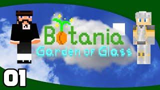 Botania: Garden of Glass - Ep. 1: Grow, Tree! | Minecraft Modded Skyblock Let