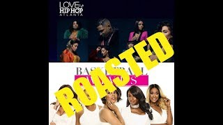 The Roast of Love & Hip Hop Atlanta Season 7 Ep 10 & Basketball Wives Season 7 Episode 2