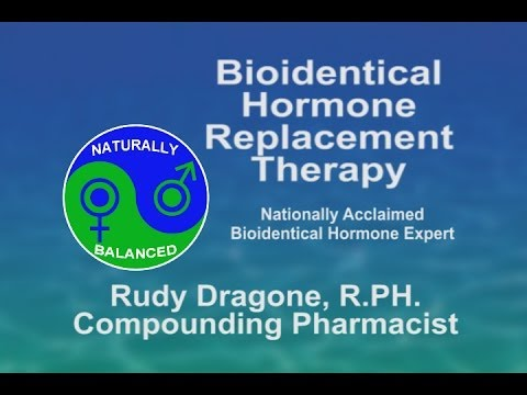 BioIdentical Hormone Replacement Therapy from YouTube · Duration:  32 minutes 8 seconds