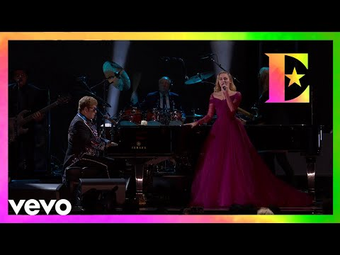 Elton John, Miley Cyrus - Tiny Dancer (LIVE From The 60th GRAMMYs ®)