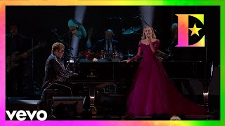 Elton John Miley Cyrus Tiny Dancer Live From The 60th Grammys