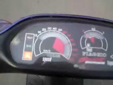 piaggio ntt nrg top speed 100km/h - youtube