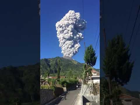 Erupsi wedus gembel gunung merapi 6 mei 2018
