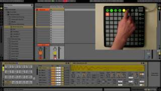 Novation Launchpad - User Mode 1 (Drum Rack)