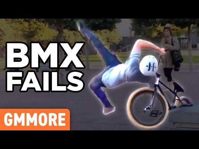 Ridiculous BMX Bike Fails (GAME)