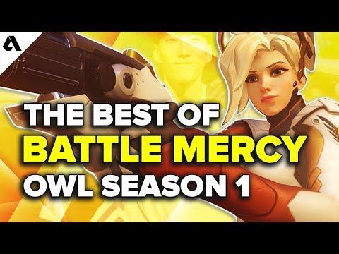 The Best of Battle Mercy Plays | Overwatch League Season 1 thumbnail