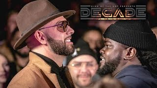 KOTD - Pat Stay vs Arsonal II Release Trailer | #DECADE | Xmas Day