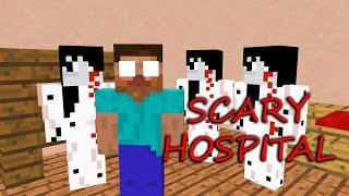 Monster School : SCARY HOSPITAL CHALLENGE - Minecraft Animation