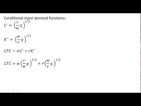 How to Derive Long-Run Average Cost from Production Function from YouTube · Duration:  5 minutes 5 seconds