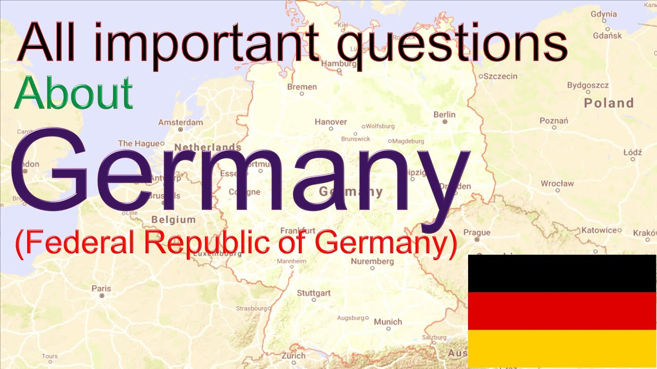 Germany General Knowledge or GK Question on Germany
