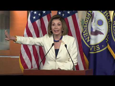 Michael Berry - Nancy Pelosi Unhinged When Asked About Her Hatred of Trump