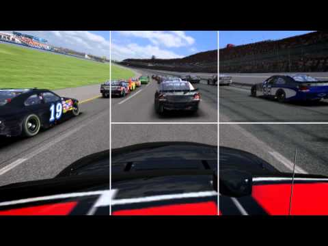 Tony Stewart Races on iRacing - Texas Motor Speedway