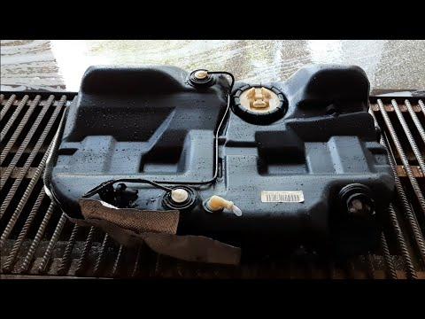 Форд Мондео 3, 2.0Tdci. Мойка топливного бака. Демонтаж бака.