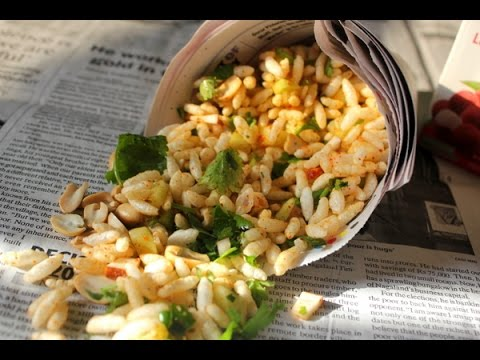 Jhal Muri - Spicy Puffed Rice {ঝাল মুড়ি}