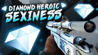 COD WW2 SnD - Heroic Diamond Sniper Sexiness!