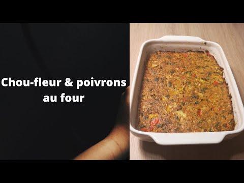 chou-fleur&poivrons-au-four-plat-sans-viande-&-économique