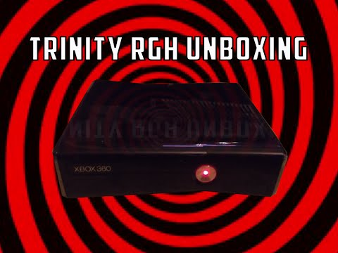 Xbox 360 Slim Trinity RGH Unboxing +1000 Subscriber Modded