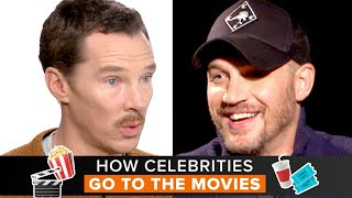 How Celebrities Go to the Movies - PART 3 | Fandango All Access