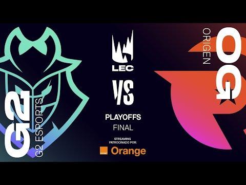 G2  ESPORTS VS ORIGEN | MAPA 3 | FINAL LEC | Spring Split [2019] League of Legends