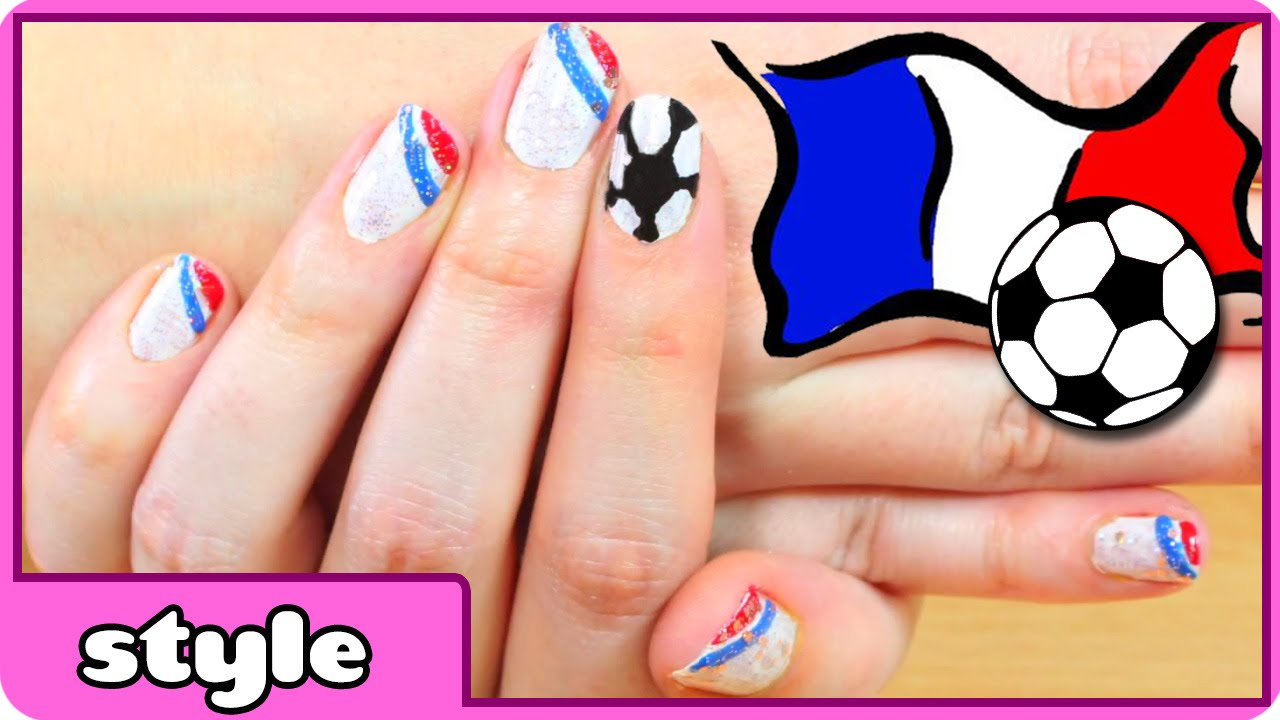 World Cup Nail Art France