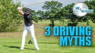 3 golfing myths with the driver