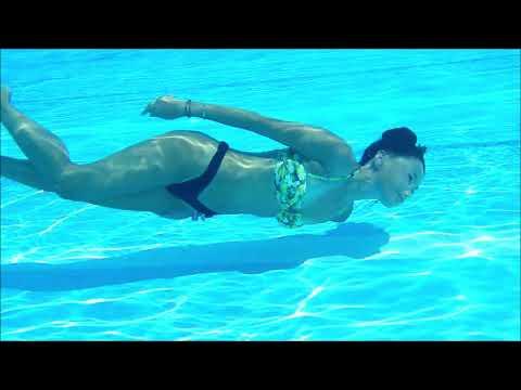 158【I love underwater!】水中大好き!