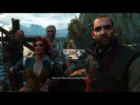 The Witcher's original opening redone in The Witcher 3
