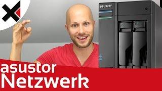 Im Netzwerk auf das Asustor NAS zugreifen Windows, Mac, Explorer, SMB Tutorial Deutsch | iDomiX